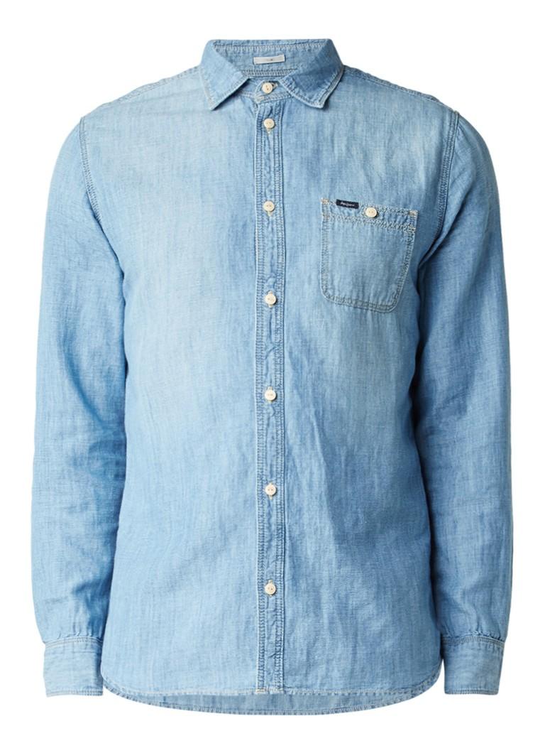 Pepe Jeans Bigwae overhemd van denim
