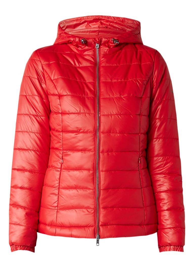 Pepe Jeans Alania gewatteerd winterjack rood