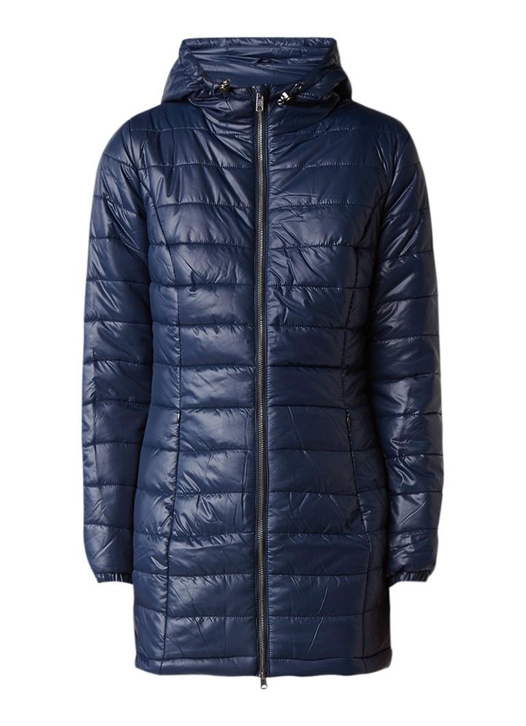 Pepe Jeans Ballad gewatteerde winterjas donkerblauw