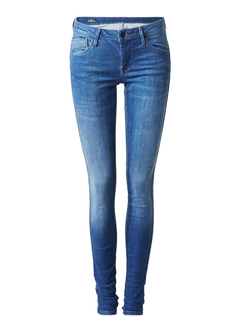 Pepe Jeans Aero low rise skinny jeans met faded look