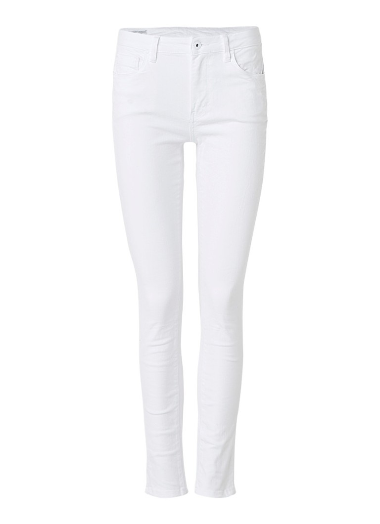 Pepe Jeans Regent high rise slim fit jeans met stretch