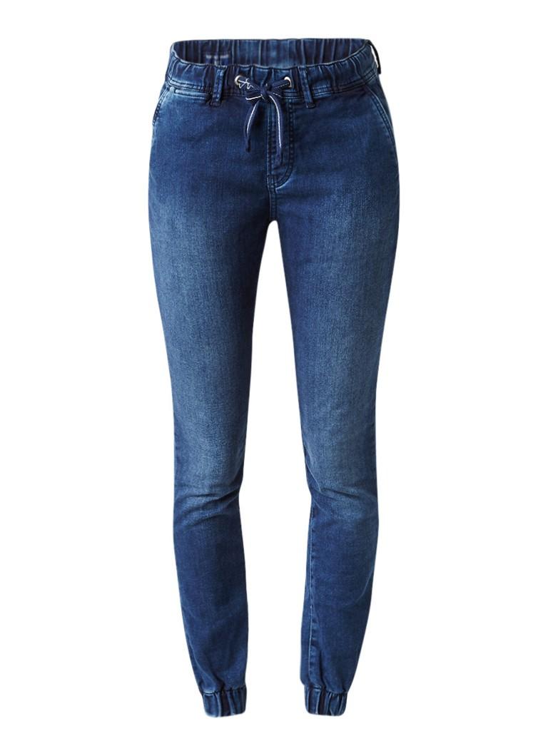 Pepe Jeans Cosie high rise boyfriend jeans met elastische onderzijde