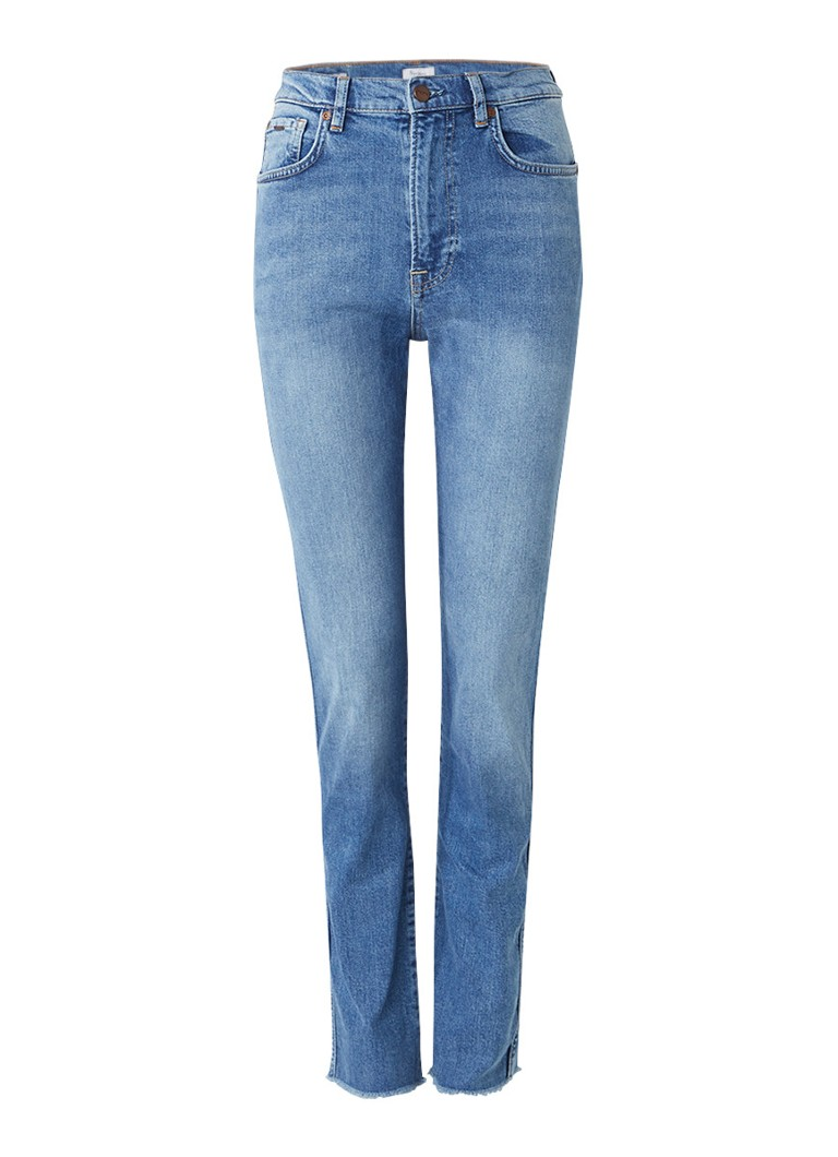Pepe Jeans Betty high rise slim fit jeans met faded look