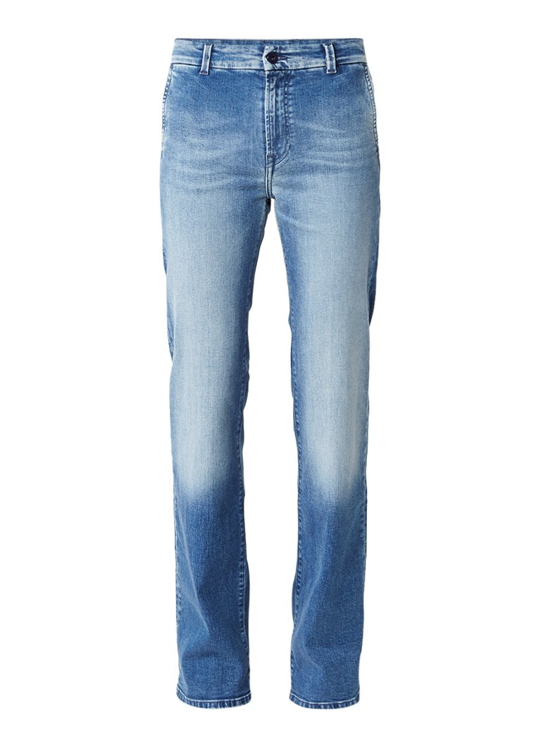 Pepe Jeans Jino mid rise slim boyfriend jeans met medium wassing