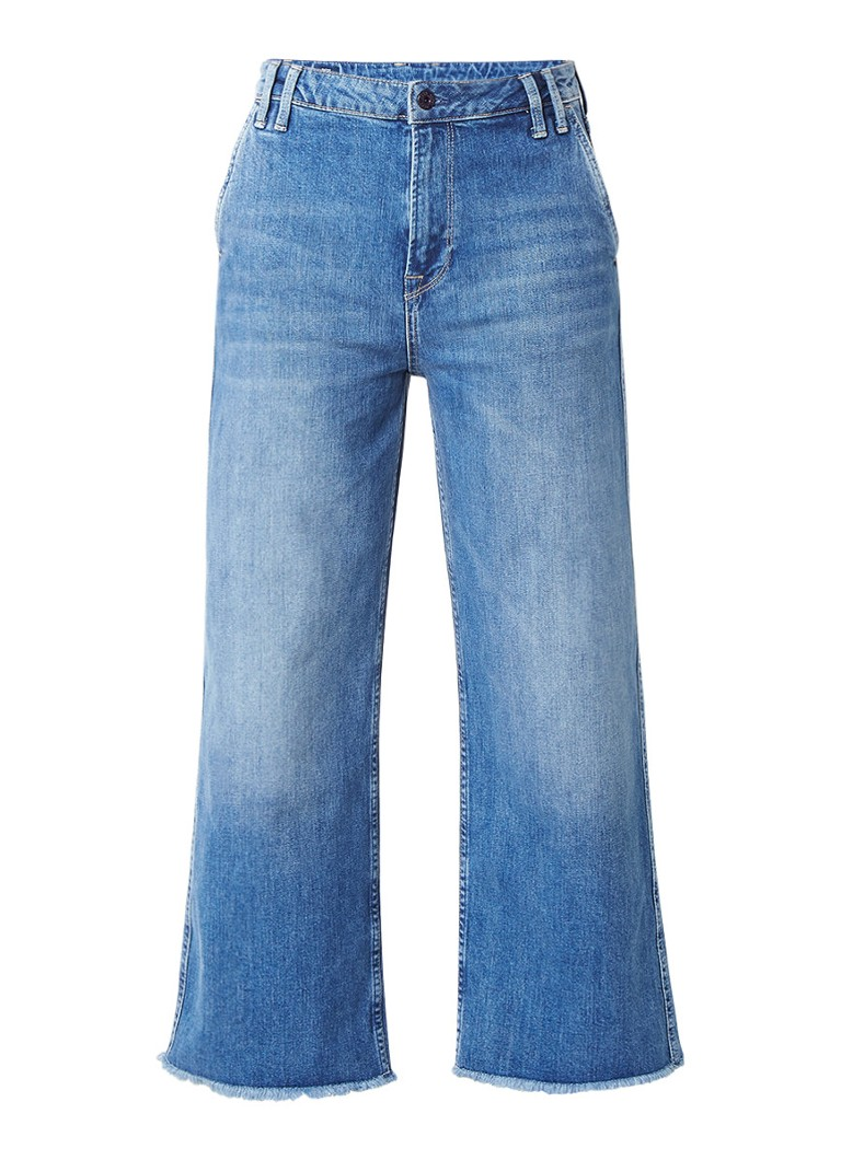 Pepe Jeans Patsy high rise culotte jeans