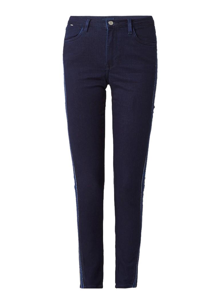 Pepe Jeans Regent mid rise skinny jeans met sportieve bies