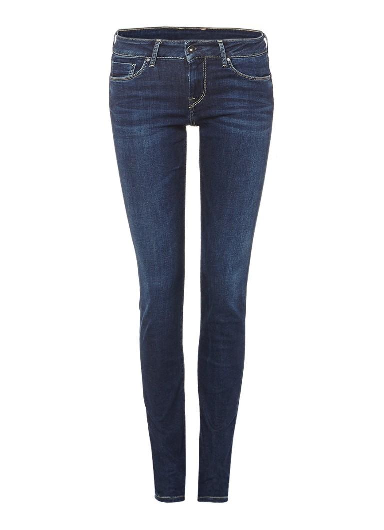 Pepe Jeans Mid rise skinny jeans met faded look