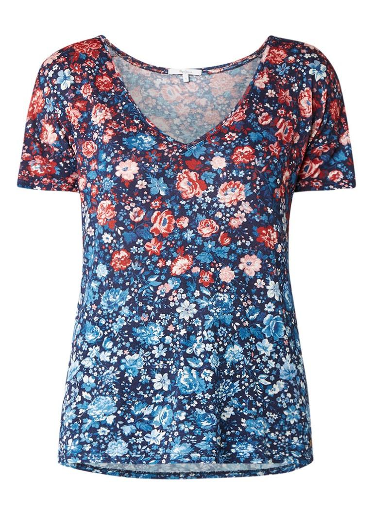 Pepe Jeans Ravenna top met bloemendessin