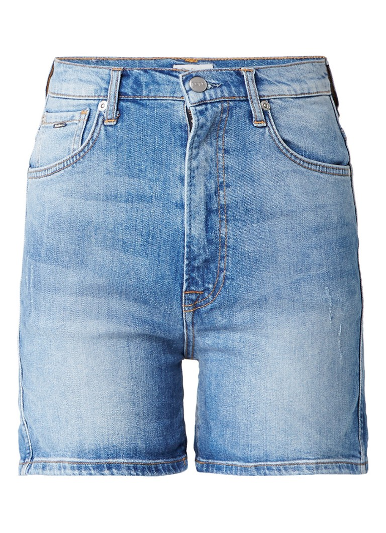 Pepe Jeans Betty high rise slim fit denim shorts