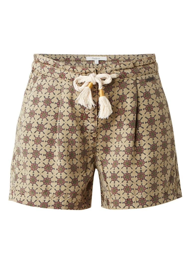 Pepe Jeans Rei shorts met dessin