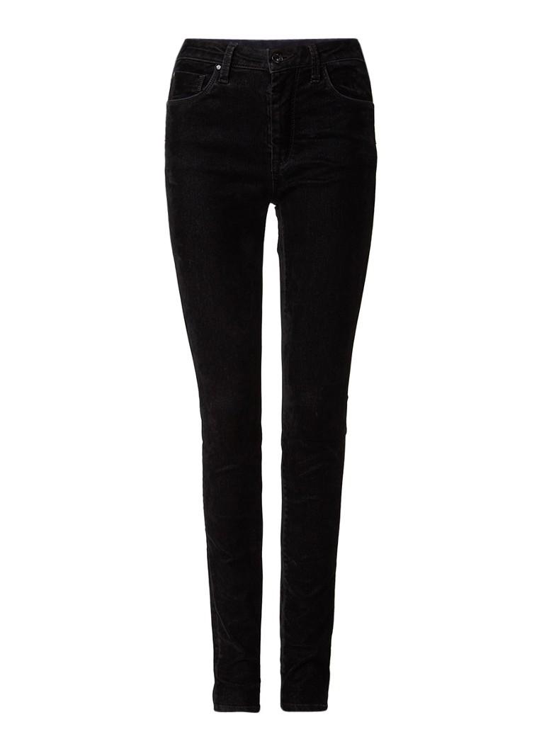Pepe Jeans Regent skinny fit 5-pocket broek van fluweel met stretch