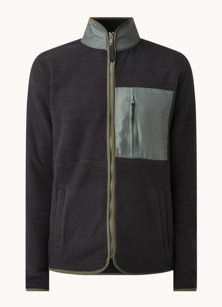 America Today Jason regular fit vest van fleece