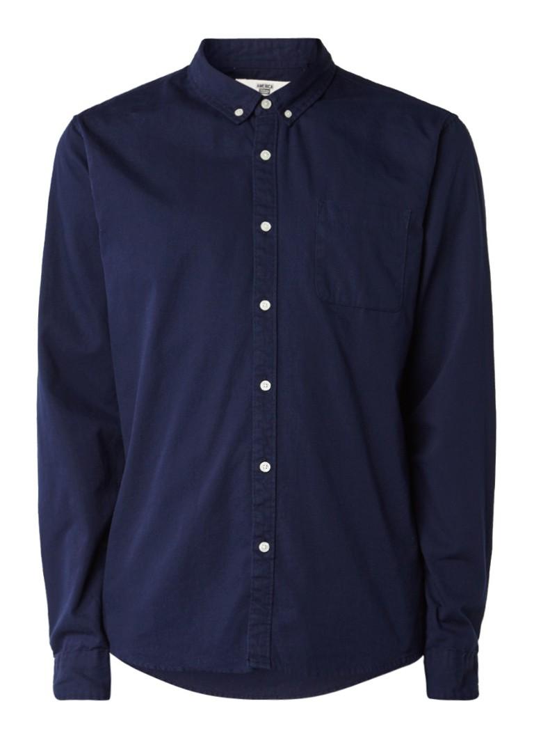 America Today Hill regular fit overhemd met button down-kraag