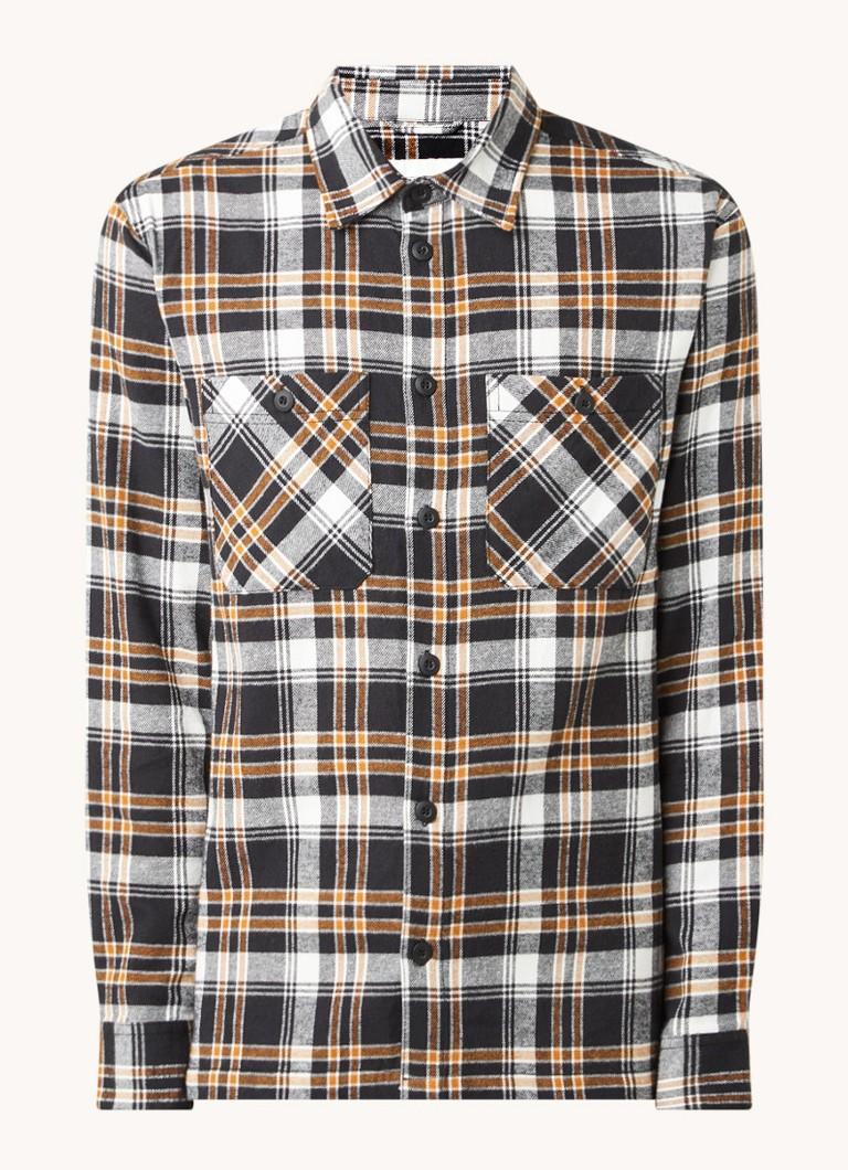 America Today Heston regular fit overhemd van flanel