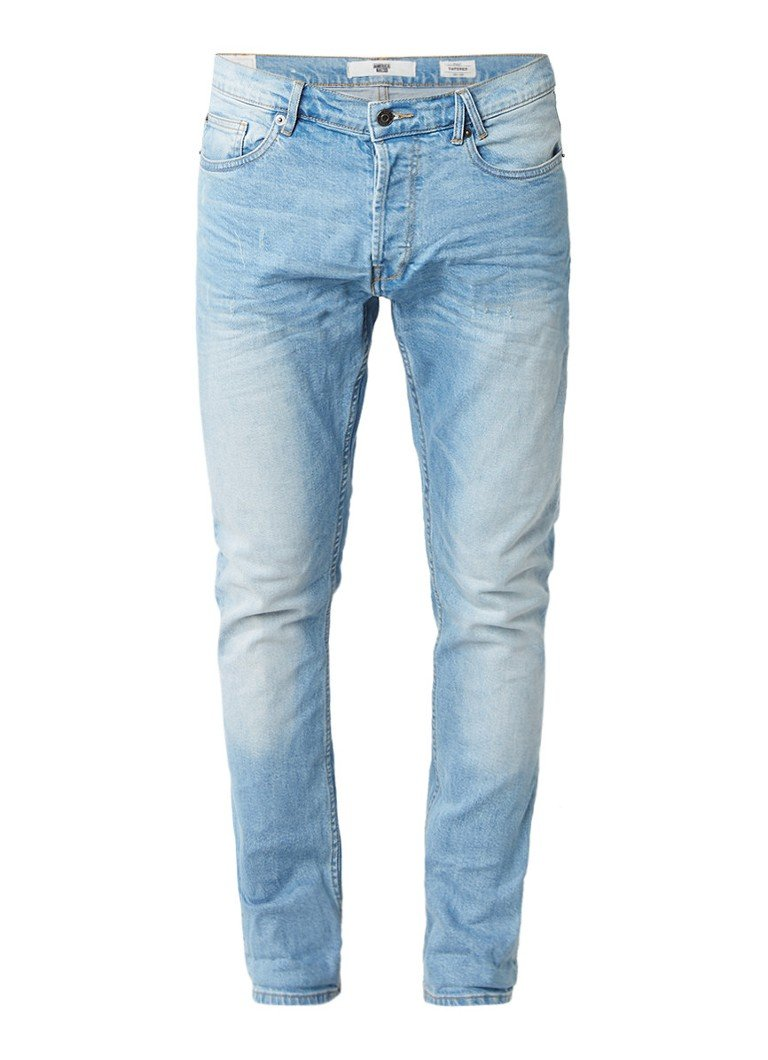 America Today Neil tapered fit jeans met stretch