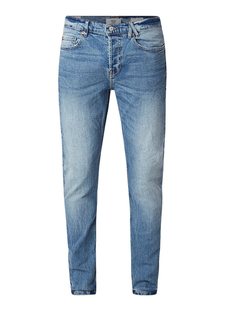 America Today Neil slim tapered fit jeans met stretch