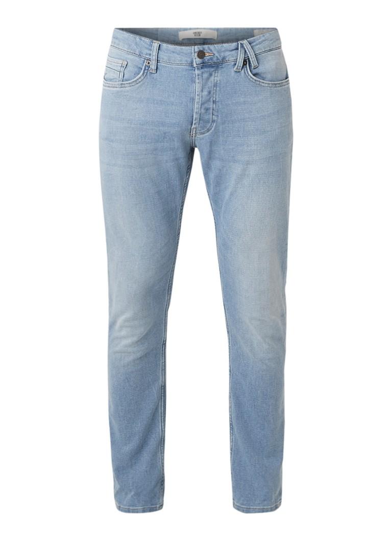 America Today Casper mid rise slim fit jeans met faded look