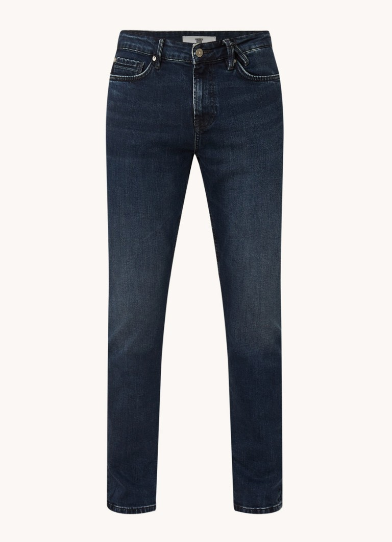 America Today Dean regular fit jeans met donkere wassing