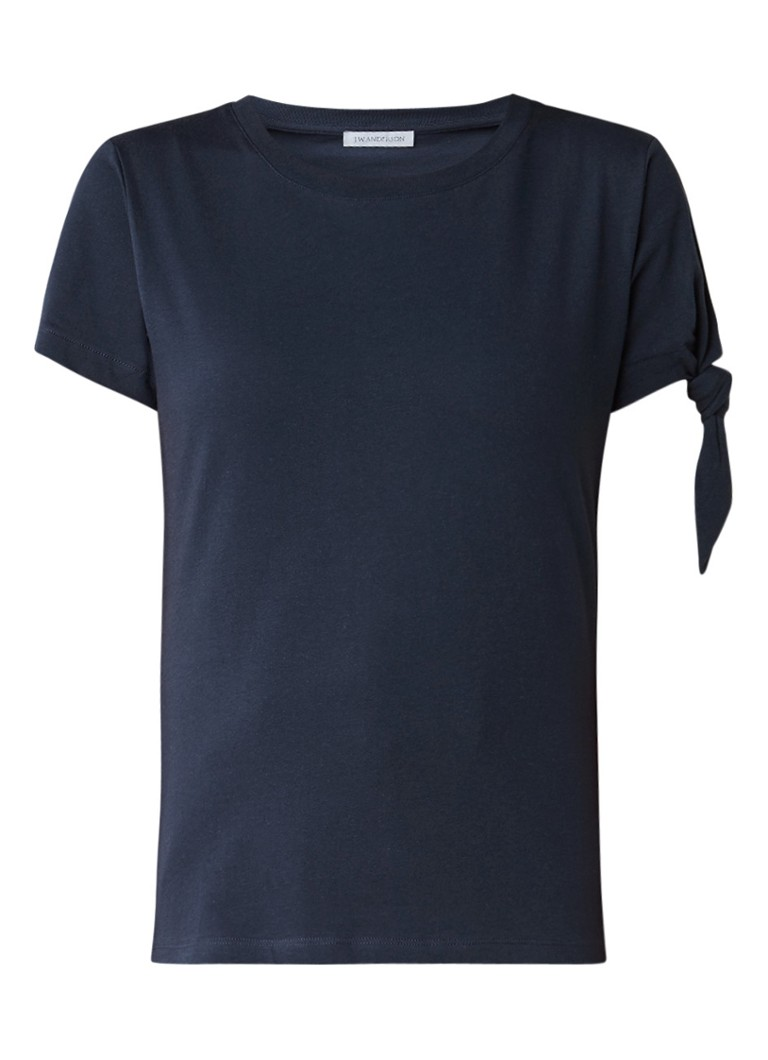 J W  Anderson Single Knot T-shirt met knoopdetail