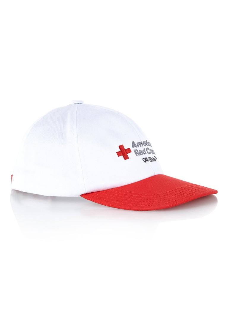 Off-White American Red Cross pet met borduring