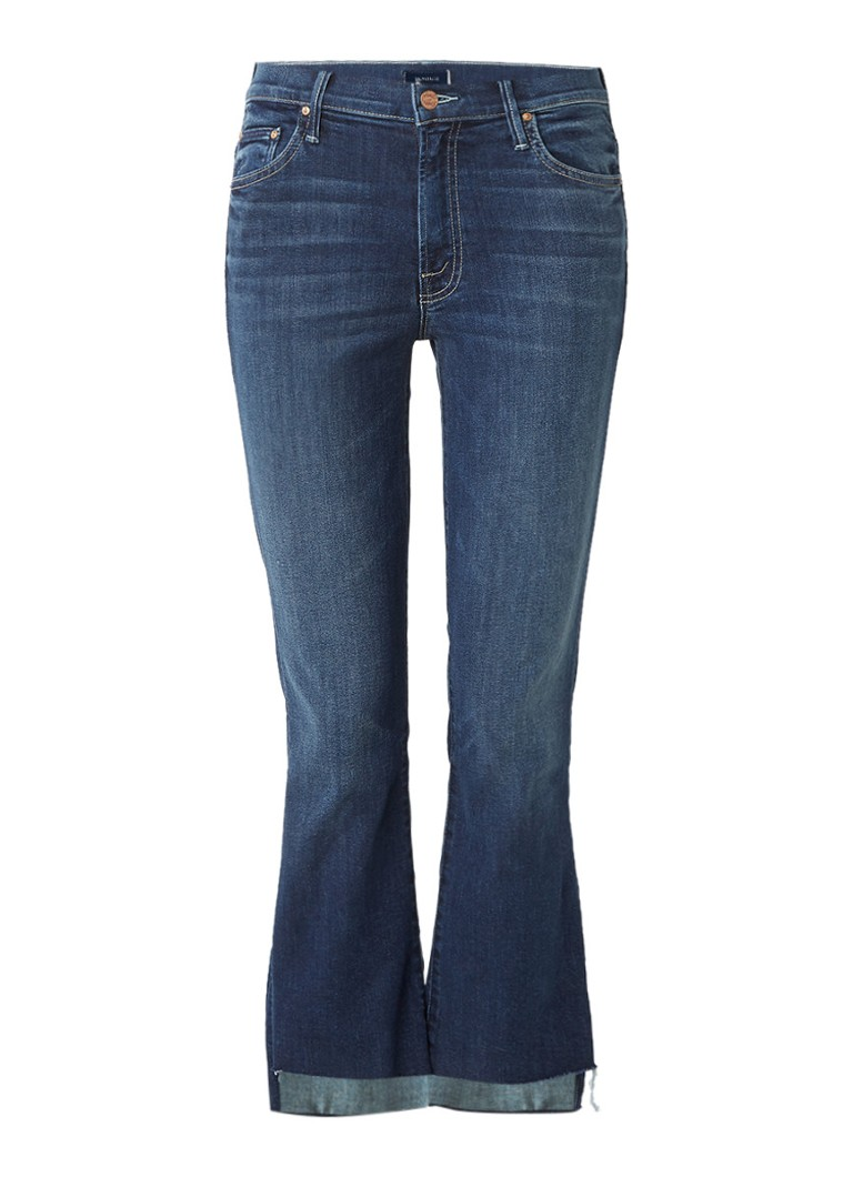 MOTHER Insider high rise cropped bootcut jeans
