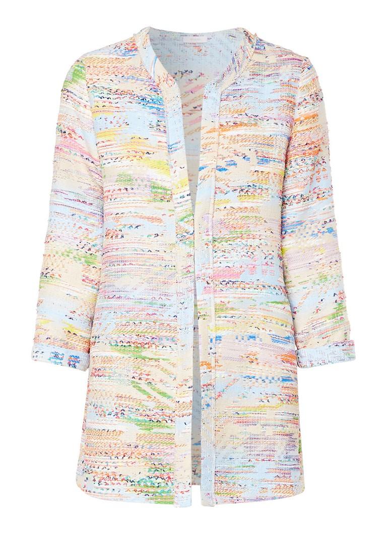 Riani Lange blazer van tweed