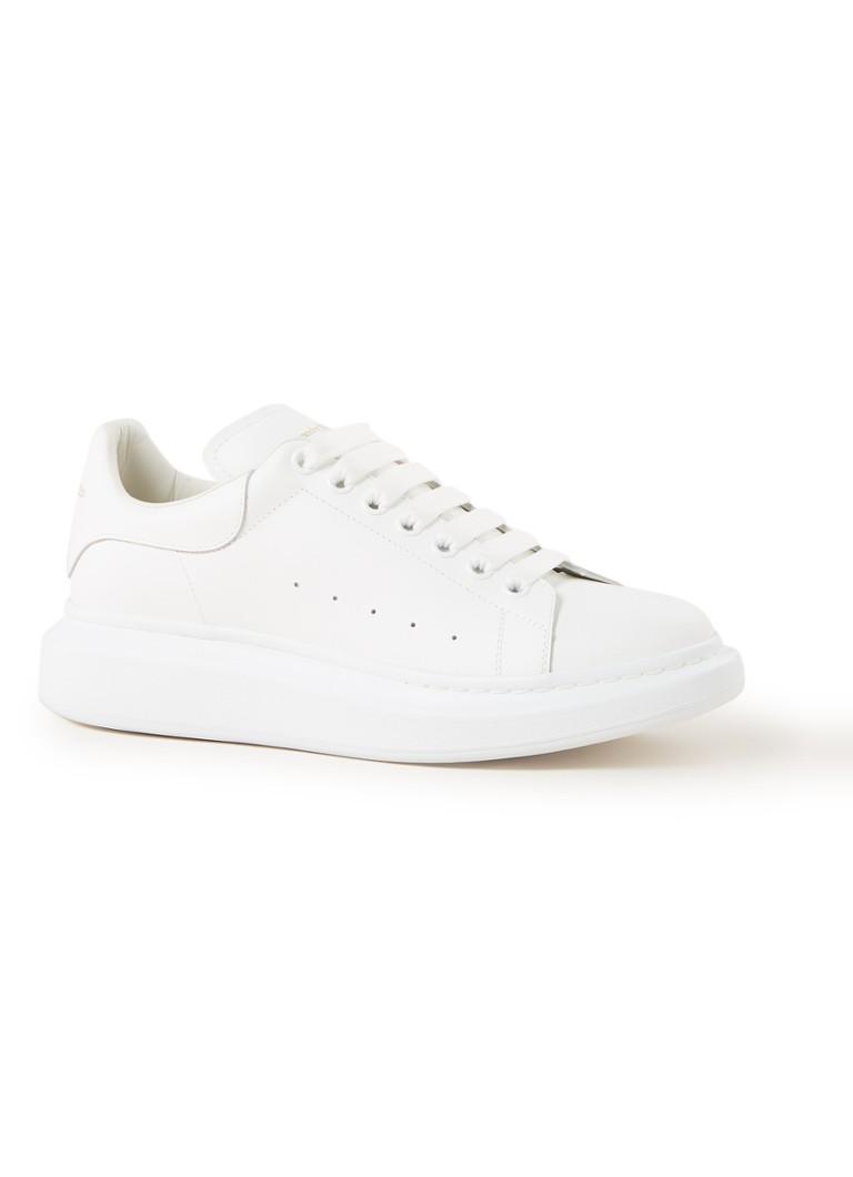 Alexander McQueen Oversized sneaker van kalfsleer