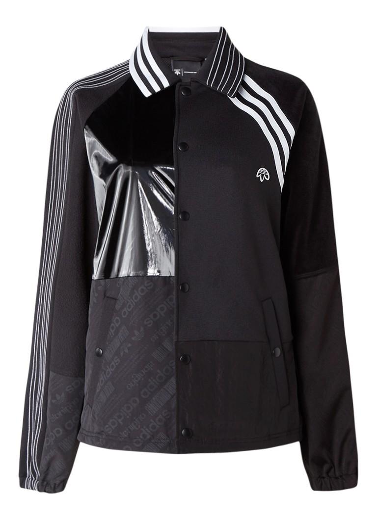 adidas Originals by ALEXANDER WANG Oversized sweatvest met patchwork look