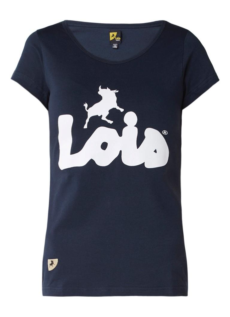 Lois T-shirt met logoprint