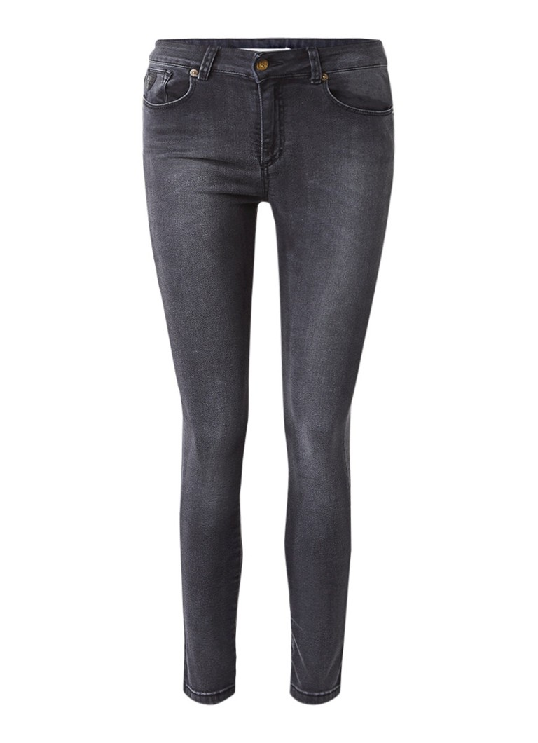 Lois Donna high rise cropped skinny jeans