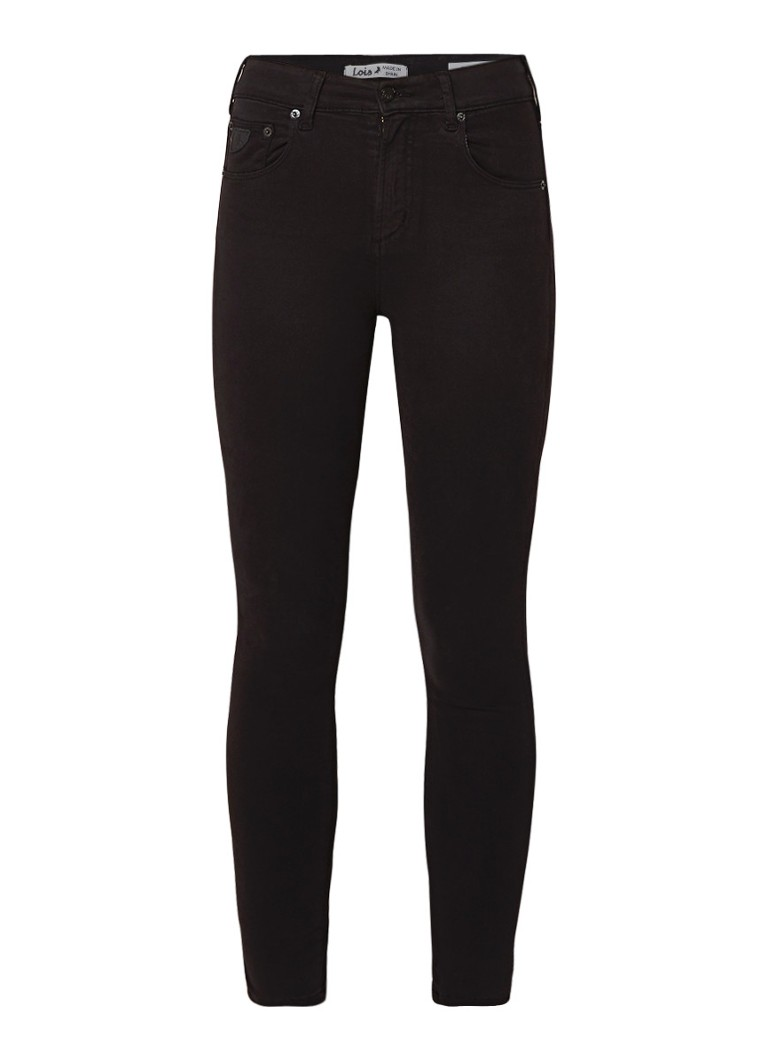Lois Celia high rise skinny fit 7 8 jeans met stretch