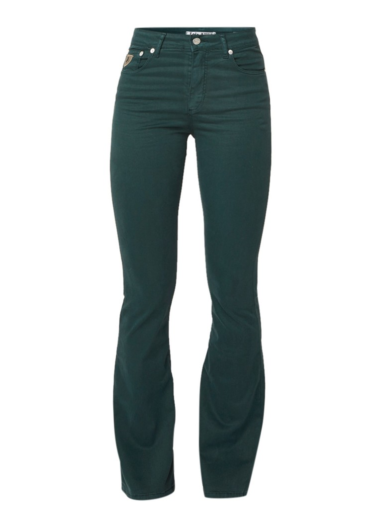 Lois Raval high rise flared fit jeans met stretch