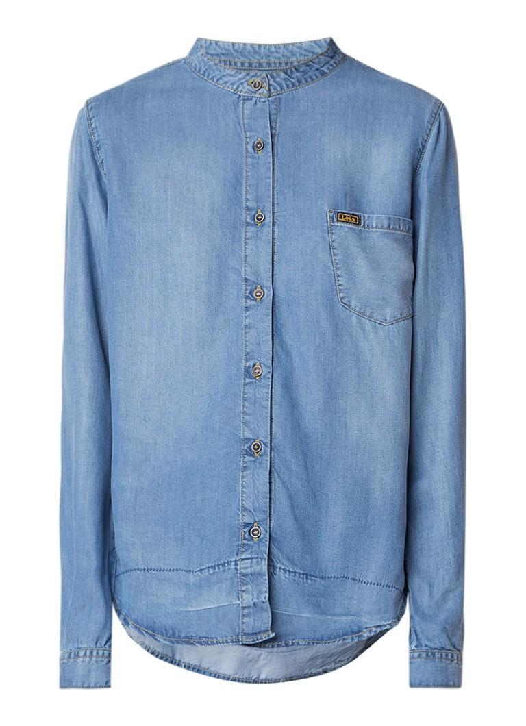 Lois Freya blouse van chambray