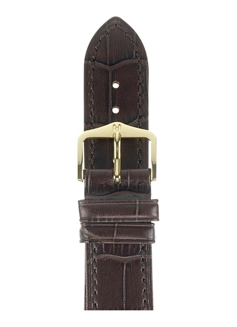 Horloges Hirsch Horlogeband Duke 12 mm Bruin