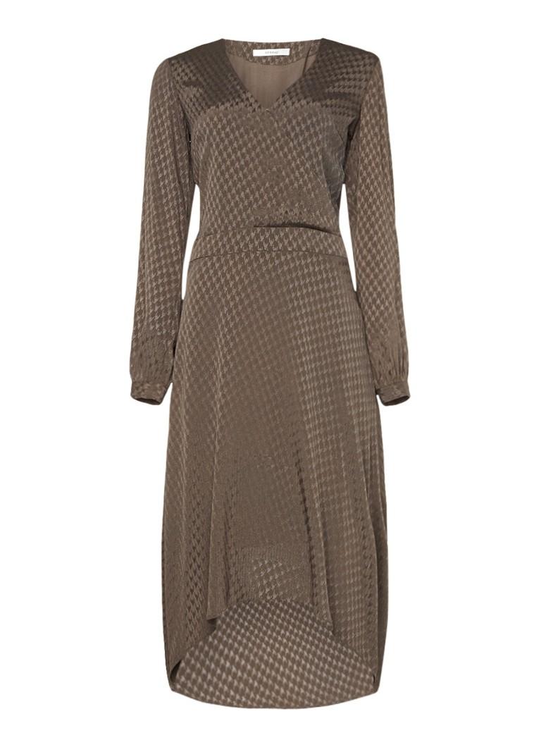 Gestuz Nete jurk met overslag en
