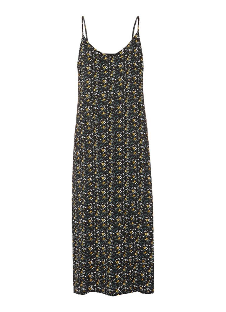 Gestuz Bloom mouwloze jurk met bloemendessin donkergroen