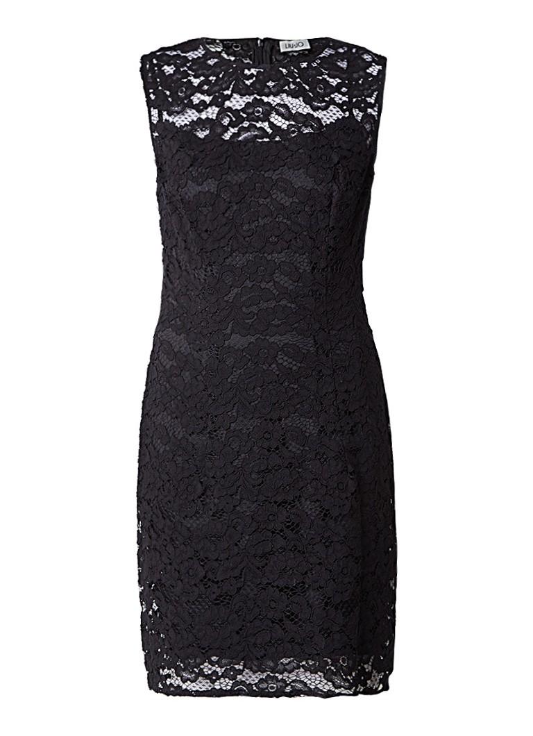 Liu Jo Korte jurk van kant zwart