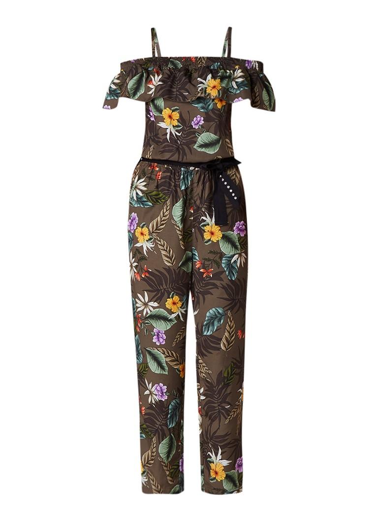 Liu Jo Instinct jumpsuit met botanische print
