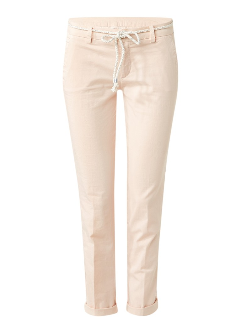 Liu Jo Welts skinny fit chino met