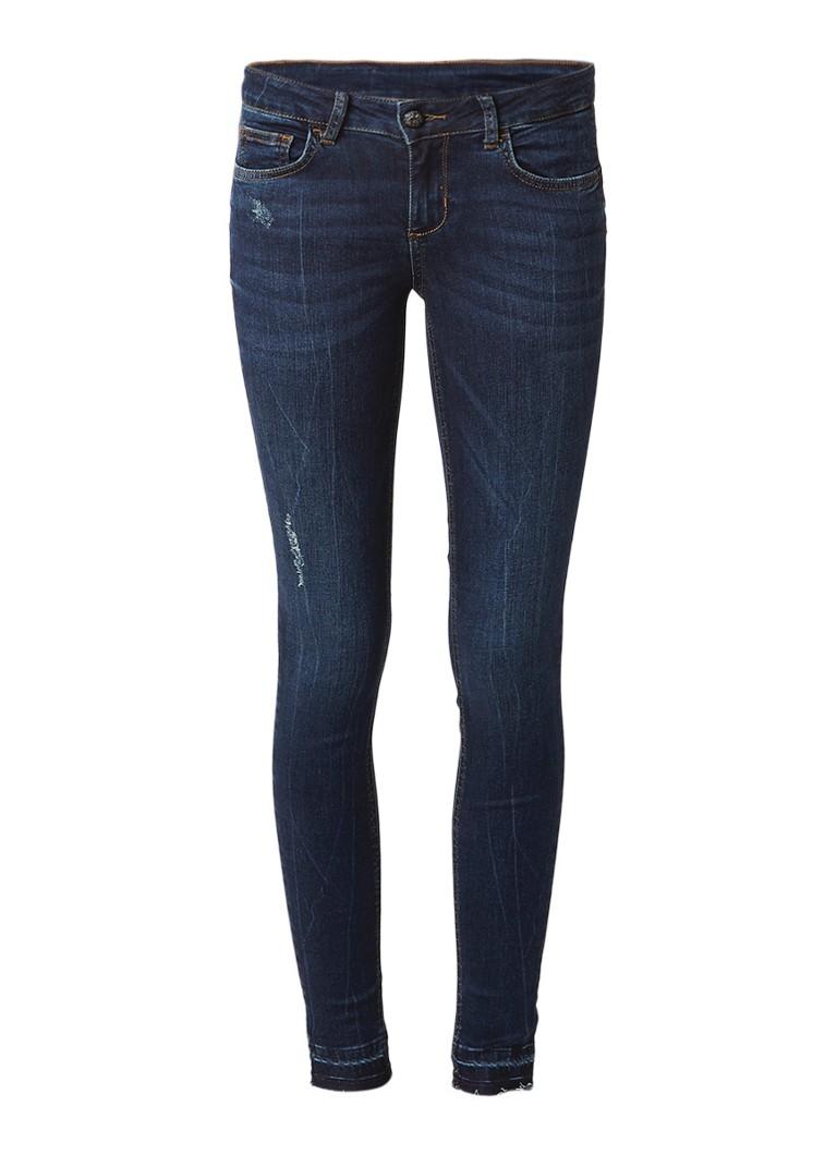 Liu Jo Mid rise skinny fit jeans met destroyed details