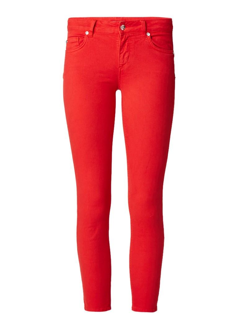 Liu Jo Low waist skinny fit jeans met gekleurde wassing