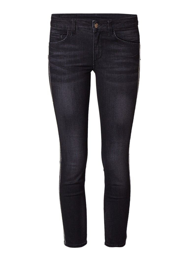 Liu Jo Ideal low rise skinny fit jeans met donkere wassing