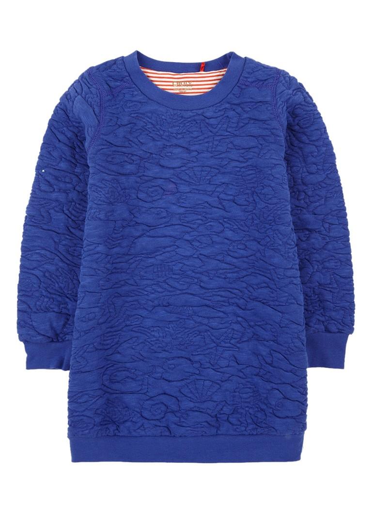 Oilily Huppel sweaterjurk met