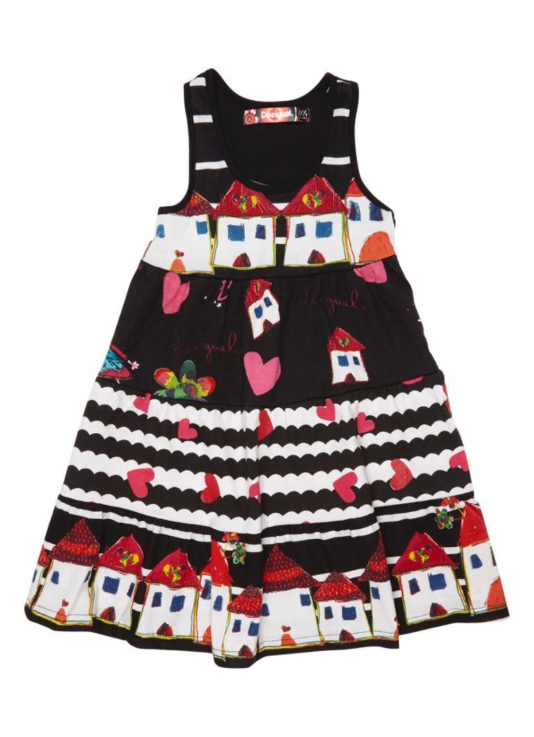 Desigual Moroni jurk met print