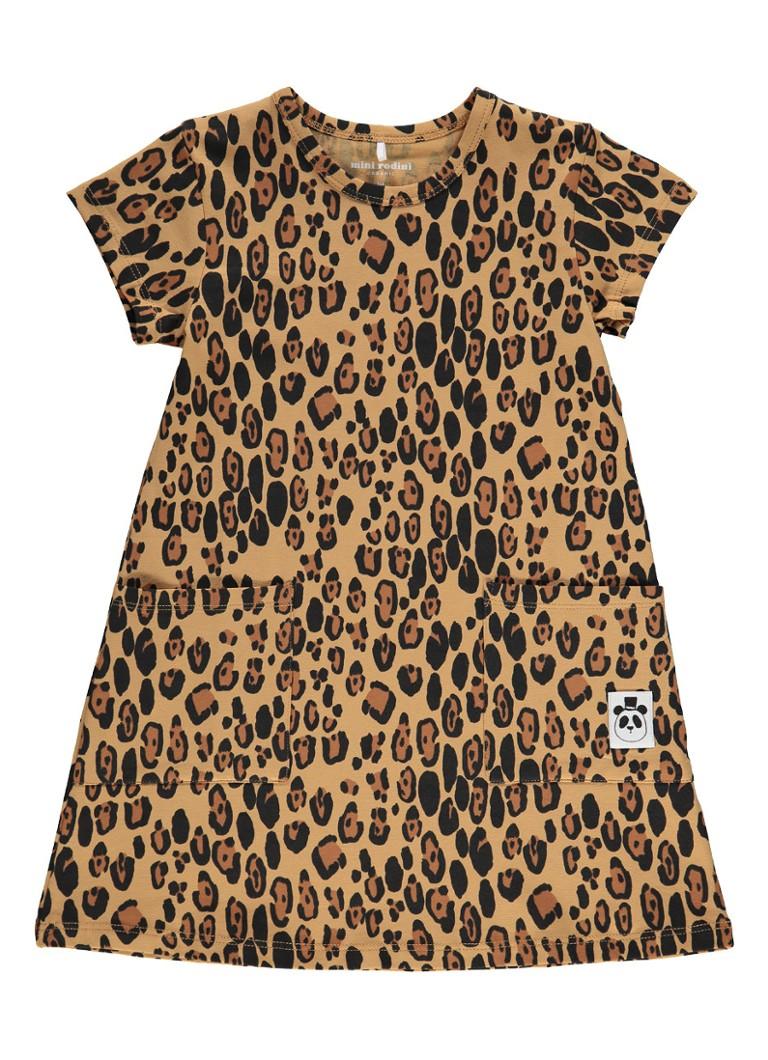 Mini Rodini Leopard Alijn jurk van