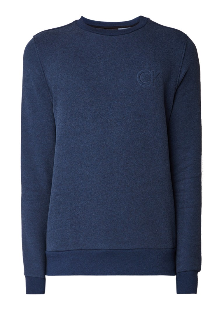 Calvin Klein Kapler sweater met 3D-logo