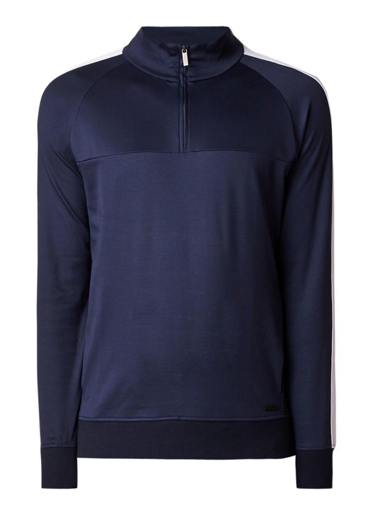 Calvin Klein Kanat sweater met ritsdetail