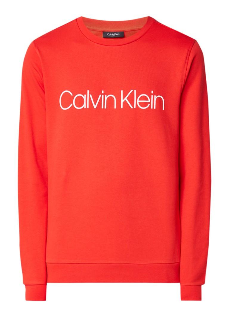Calvin Klein Kai sweater met logoprint