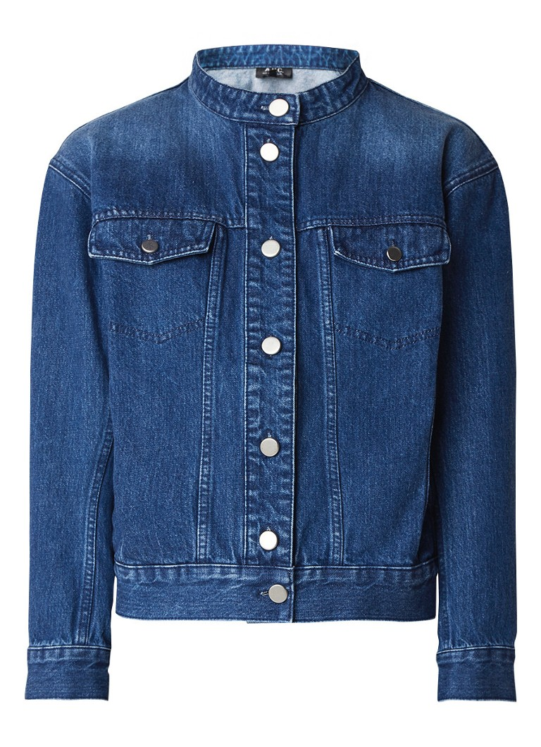 A P C  Bailey oversized denim jack