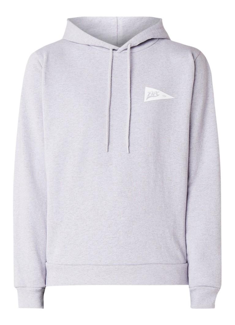 A.P.C. Caryl hoodie met logoprint